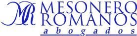 Mesonero Romanos Abogados Logo